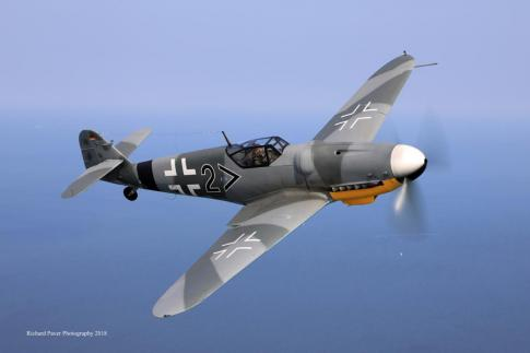 1944 Messerschmitt Bf 109-G for Sale in Germany (EDAH)
