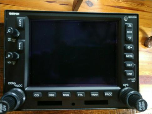Garmin GNS 530W  With Tray, Antenna And 8130-3 in Olive Branch, Mississippi, United States (3865)