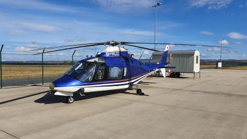 1987 Agusta A109A II for Sale in Kassel-Calden, Germany (EDVK)