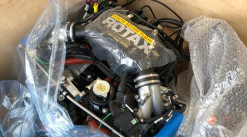 New turbo charged rotax 915 iS engine - 140HP in United Kingdom