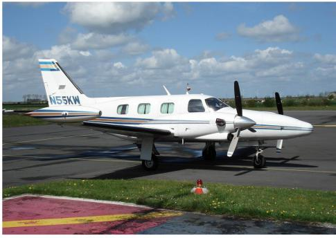 1981 Piper PA-31T Cheyenne II for Sale in Greece
