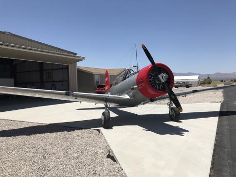 1941 Vultee BT-13A for Sale/ Swap/ Trade in Las Vegas, Nevada, United States (3L2)