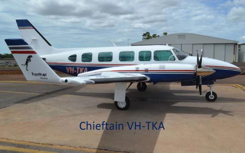 1982 Piper PA-31-350 Chieftain Panther for Auction in Perth, Western Australia, Australia