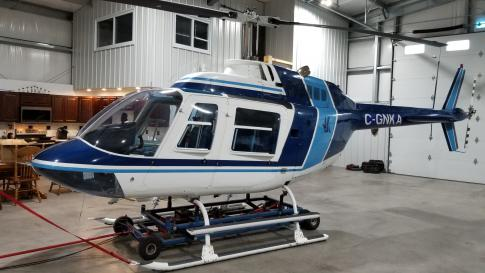 1977 Bell 206B3 JetRanger III for Sale in Canada