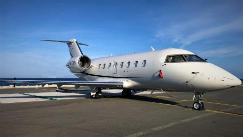 2009 Bombardier Challenger 605 for Sale in United Kingdom