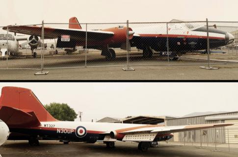 1954 BAe Canberra for Auction in Lakeport, California, United States