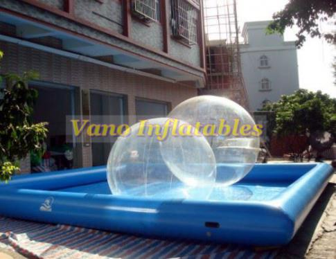 Water Walking Ball Bumper Football Zorbing Roller Wheel in Texas, United States