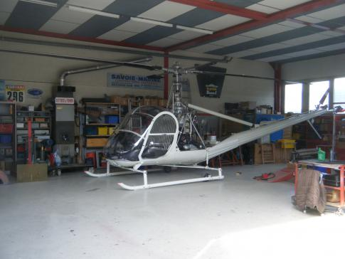 1954 Hiller UH-12B for Sale in SAINT-JORIOZ, HAUTE-SAVOIE, France