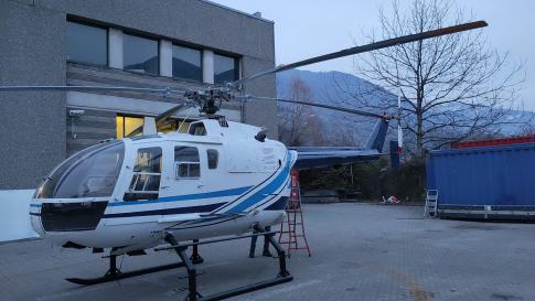 1996 Eurocopter Bo 105-CBS5 for Sale in milano, milano, Italy (lilo)