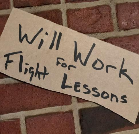 WILL WORK FOR FLIGHT LESSONS in Stockport, Ohio, United States (KPKB)