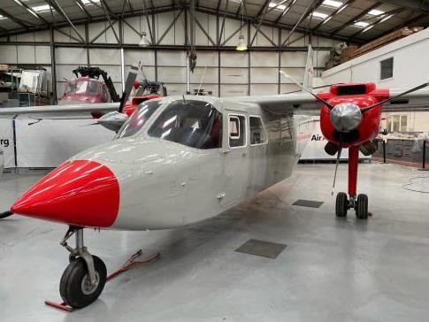 1991 Britten Norman BN2T Turbine Islander for Sale in Kent, United Kingdom (EGKB)