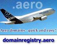 Registration of .aero domain name in Virginia, Germany