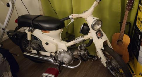 Rare S&K Suitcase Cycle 1966 Honda TRAIL 90 in LOS ANGELES, California, United States