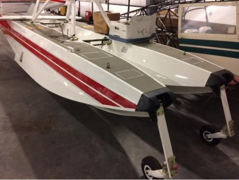 Wipline 3000A floats for cessna 185 in Sweden
