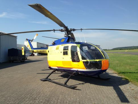 1974 Eurocopter Bo 105-C for Sale in Germany
