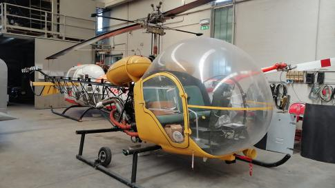 1900 Bell 47J-3 for Sale in Italy